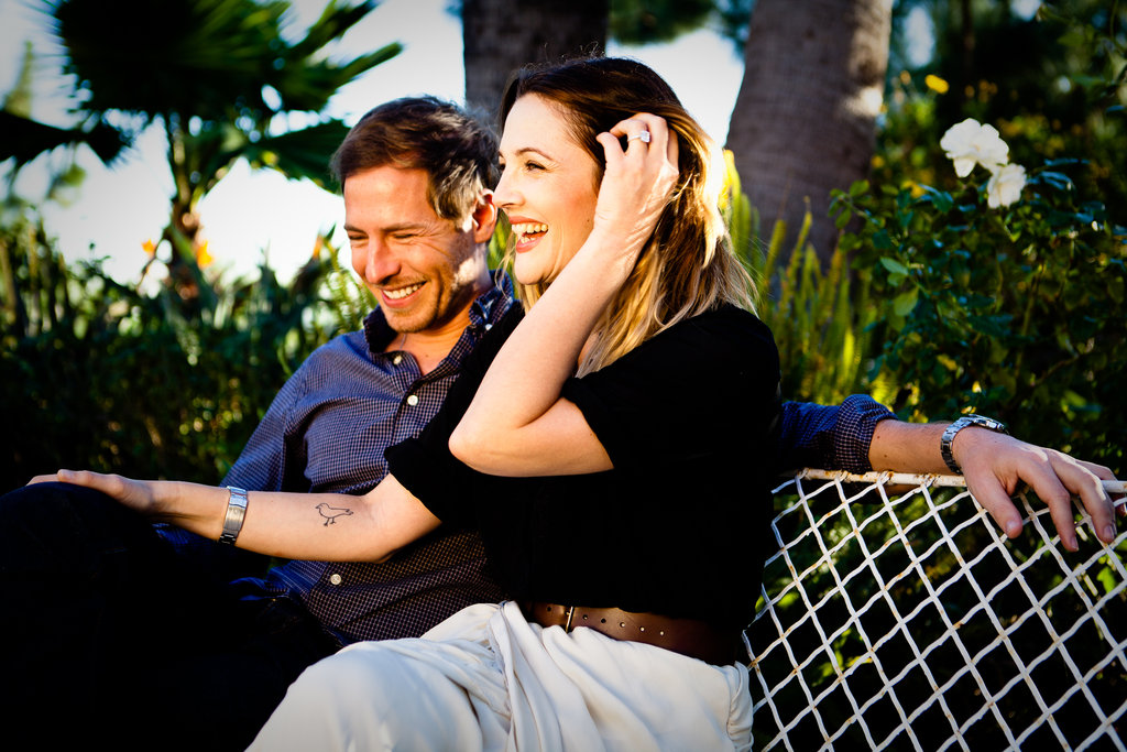 Drew Barrymore and Will Kopelman released an official engagement picture to spread their joy in January 2012.  Source: Image courtesy of David Khinda