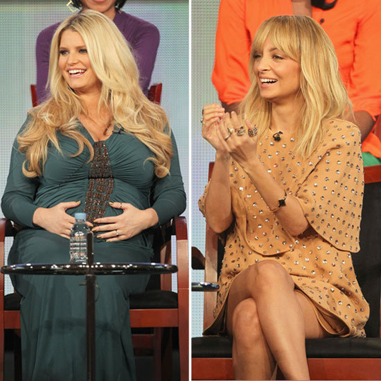Jessica Simpson and Nicole Richie Bring Their Star Power to the TCAs