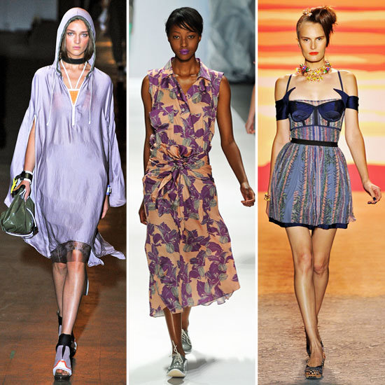 The Top Five Colour Trends from Spring Summer 2012 Runways: Pastels, All White and Metalllics
