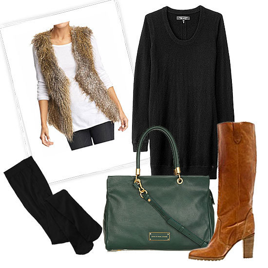 Spice up your Winter wardrobe with five sweet ways to rock a sweater dress.