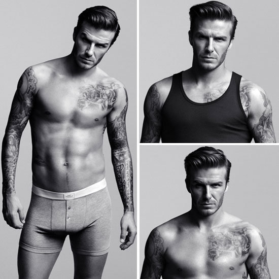 Prepare yourself for some serious eye candy — these David Beckham ads for his new H&M underwear collection are hard not to stare at.