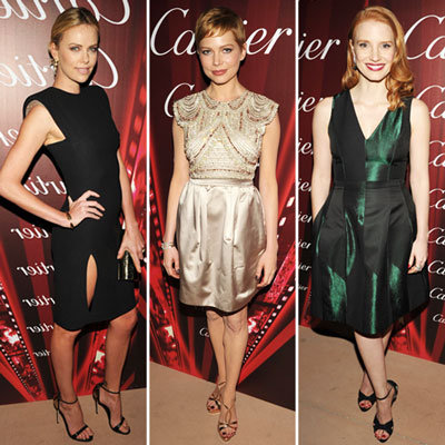 Michelle Williams, Angelina Jolie, Olivia Wilde & Charlize Theron Show Their Red Carpet Style at 2012 Palm Springs Film Festival