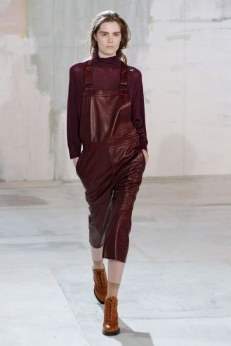 ACNE London Fashion Week fashion show catwalk report fall 2011