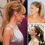 Hair Trend: Ponytails Sweep the Red Carpet at the 2012 Golden Globes