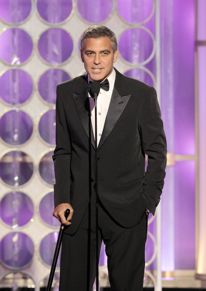 George Clooney Pokes Fun at Brad Pitt