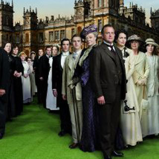 Downton Abbey Golden Globe For Best Miniseries or TV Movie