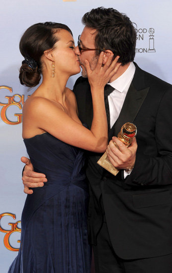 Bérénice Bejo and Michel Hazanavicius