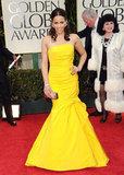 Paula Patton at the Golden Globes.