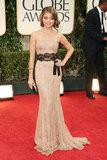 Sarah Hyland at the Golden Globes.
