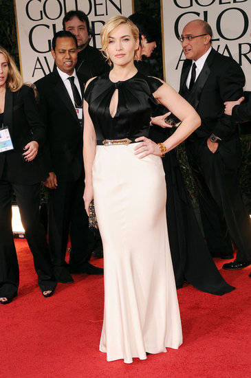 Kate Winslet at the Golden Globe Awards.