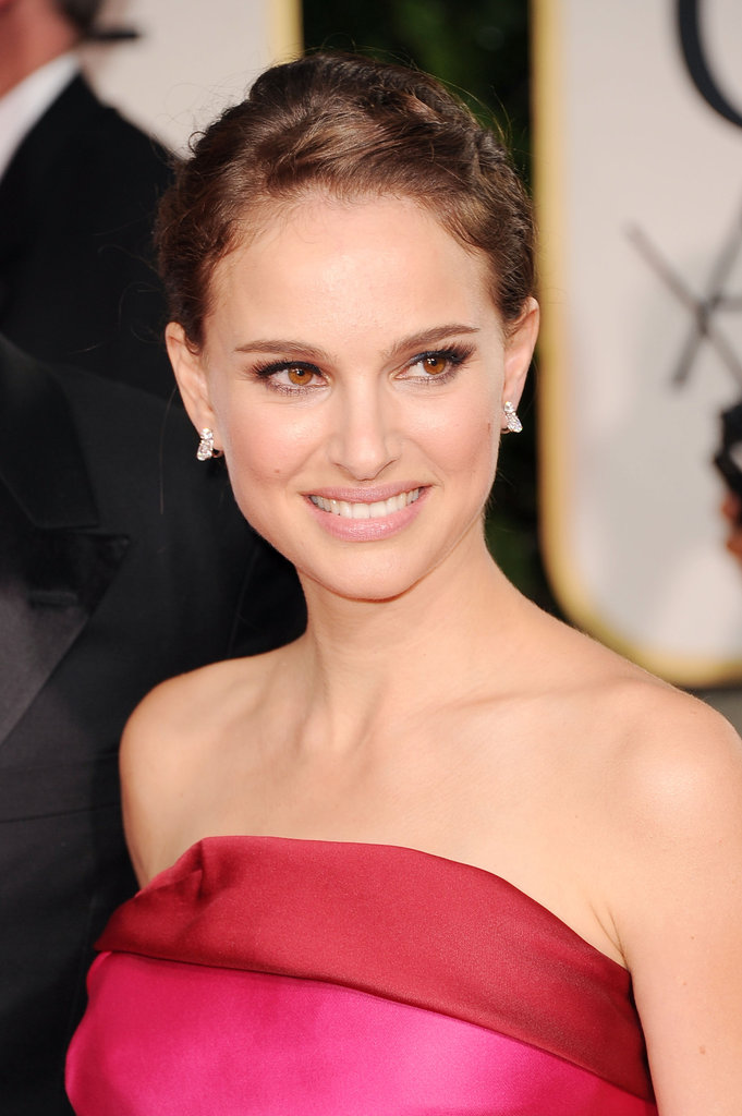 Natalie Portman at the 2012 Golden Globe Awards.