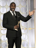 Idris Elba gave his Golden Globe acceptance speech.