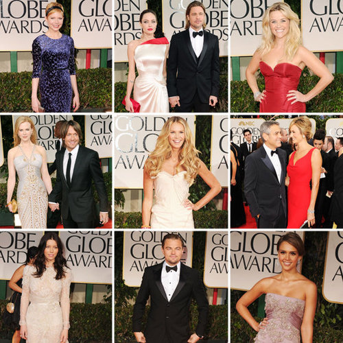 Golden Globes Red Carpet Pictures 2012