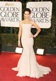 Kate Becksinsale at the Golden Globes.