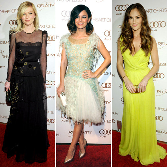 Kirsten, Rachel, Minka, and More Show Serious Glamour at the Art of Elysium Heaven Gala