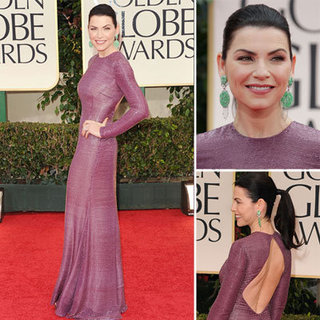 Julianna Margulies at Golden Globes 2012