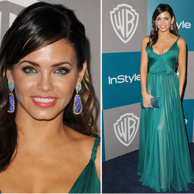 Jenna Dewan at Golden Globes 2012