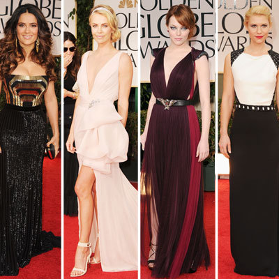 Golden Globes Fashion 2012