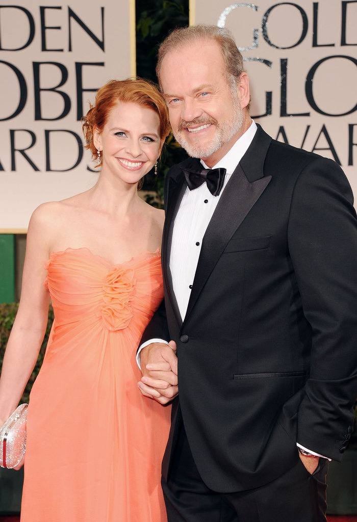 Nominee Kelsey Grammer's wife is there to support him.