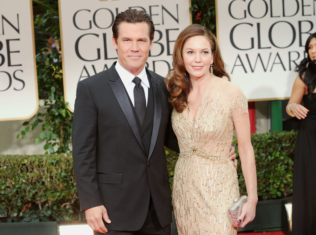 Josh Brolin and Diane Lane walk the red carpet.
