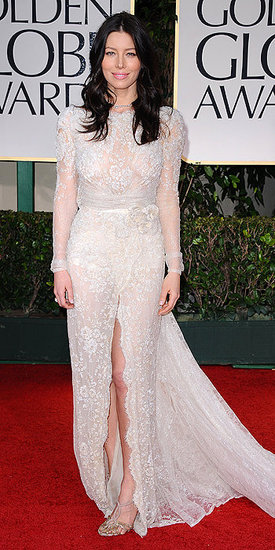 Jessica Biel(2012 Golden Globes)