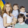 Celine Dion's Twins Nelson and Eddy Pictures in Vegas