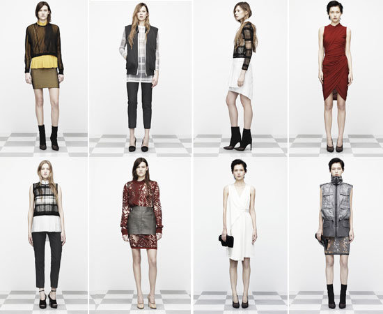 Not Hard to Imagine: Alexander Wang Kills it for Pre-Fall '12