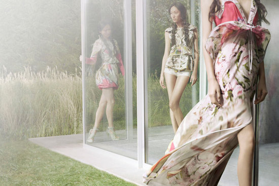 Vera Wang Spring 2012 Ad Campaign