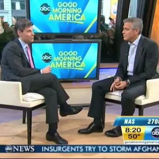 George Clooney Talks About His Dog Einstein (Video)