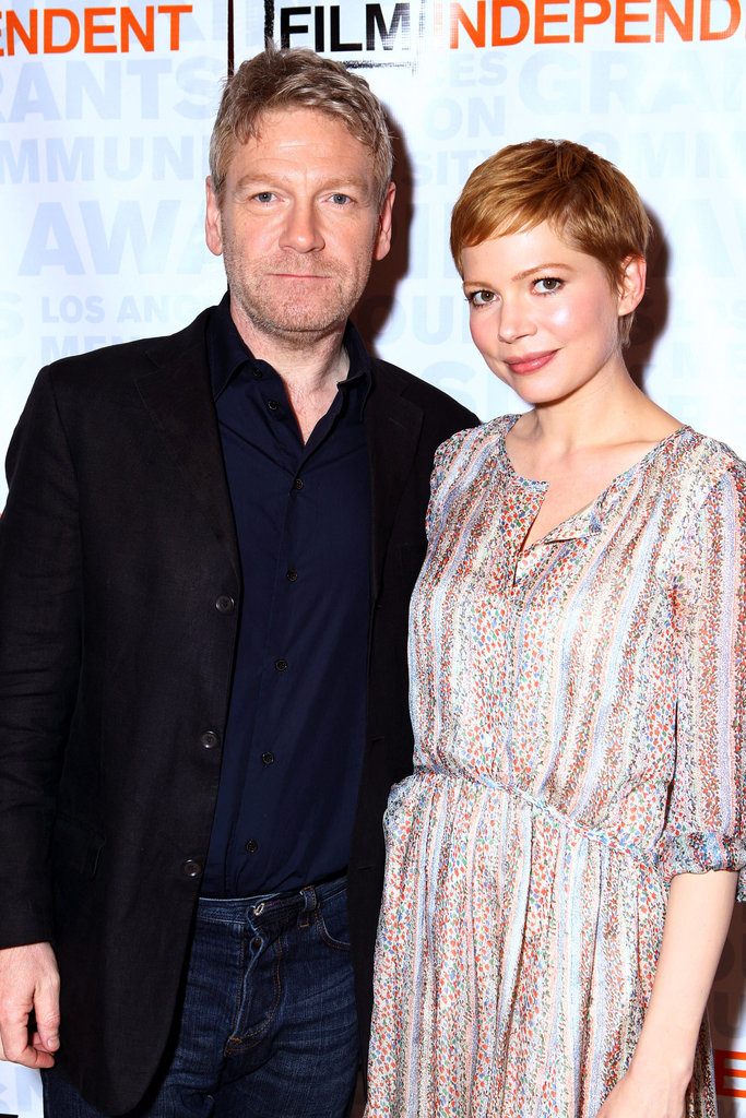 Michelle Williams and Kenneth Branagh were in LA for the Film Independent screening series of My Week With Marilyn.