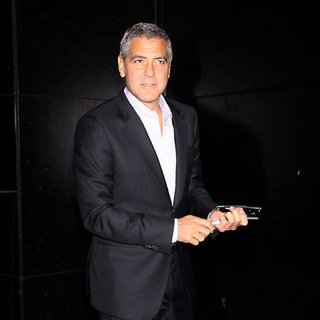 George Clooney Pictures at Good Morning America