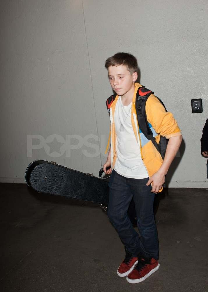 Brooklyn Beckham in LA.
