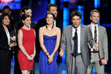 Alyson Hannigan, Cobie Smulders, Josh Radnor, and Neil Patrick Harris