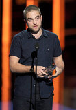 Robert Pattinson picked up a People's Choice Award.