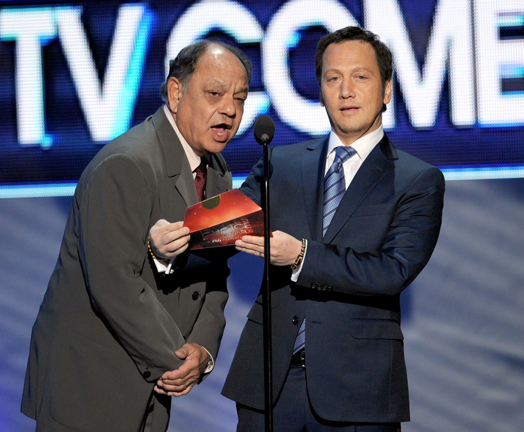 Cheech Marin and Rob Schneider