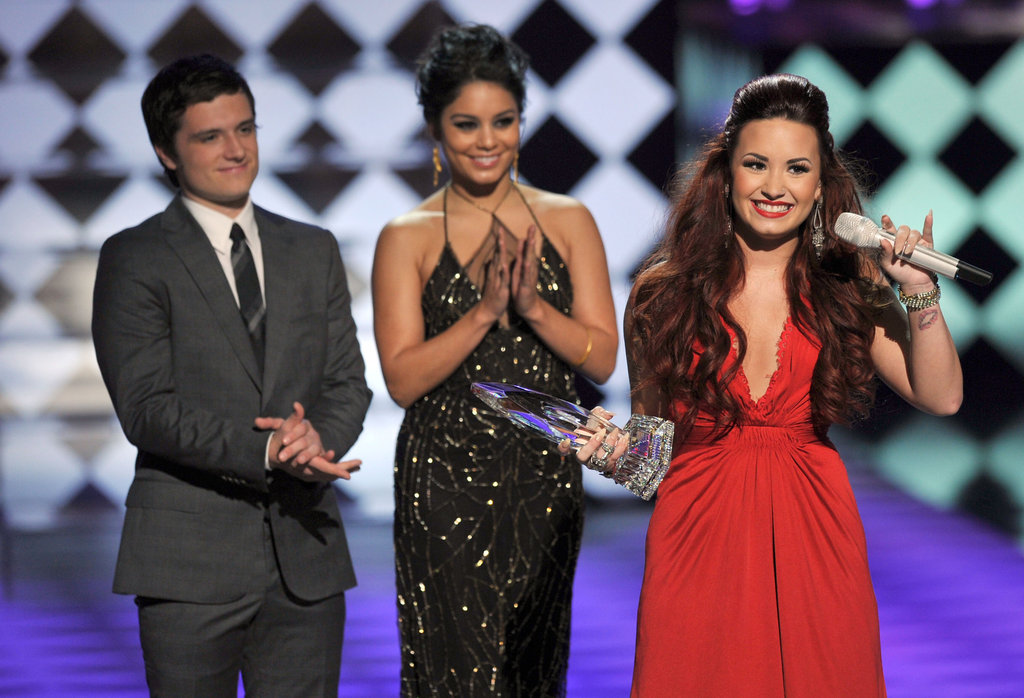 Josh, Vanessa, and Demi