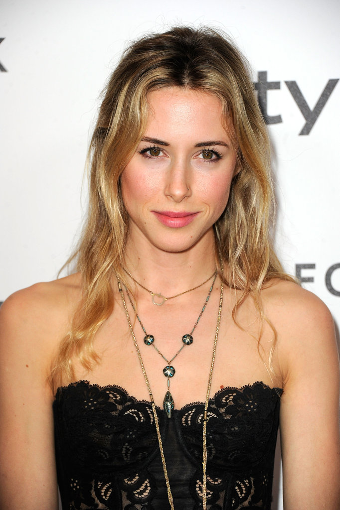 Gillian Zinser layered necklaces.