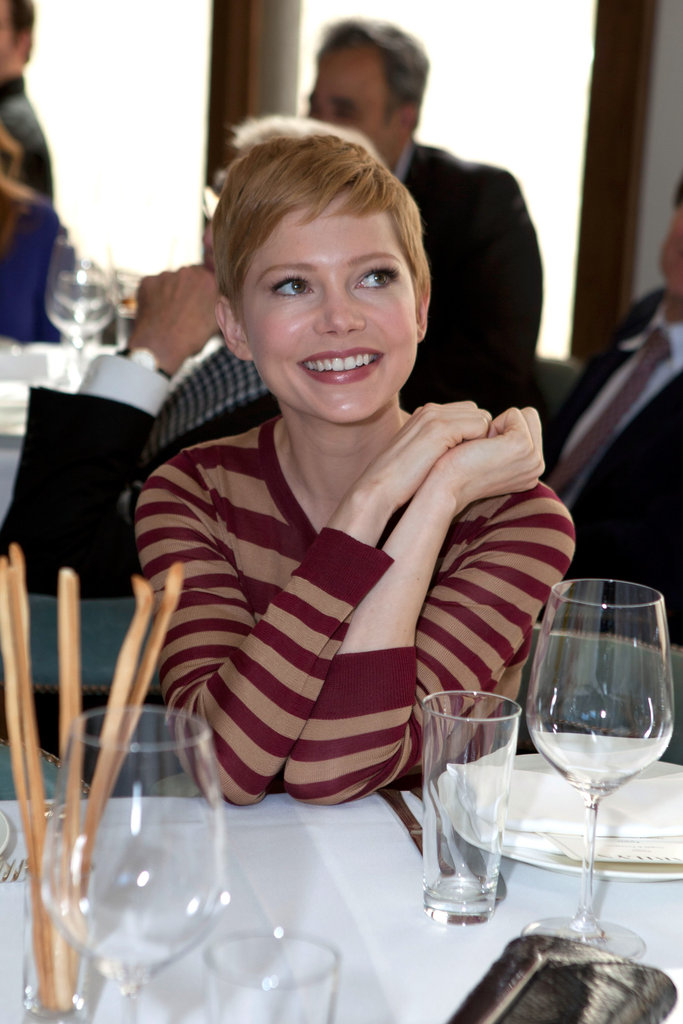 Michelle Williams wearing Jason Wu.