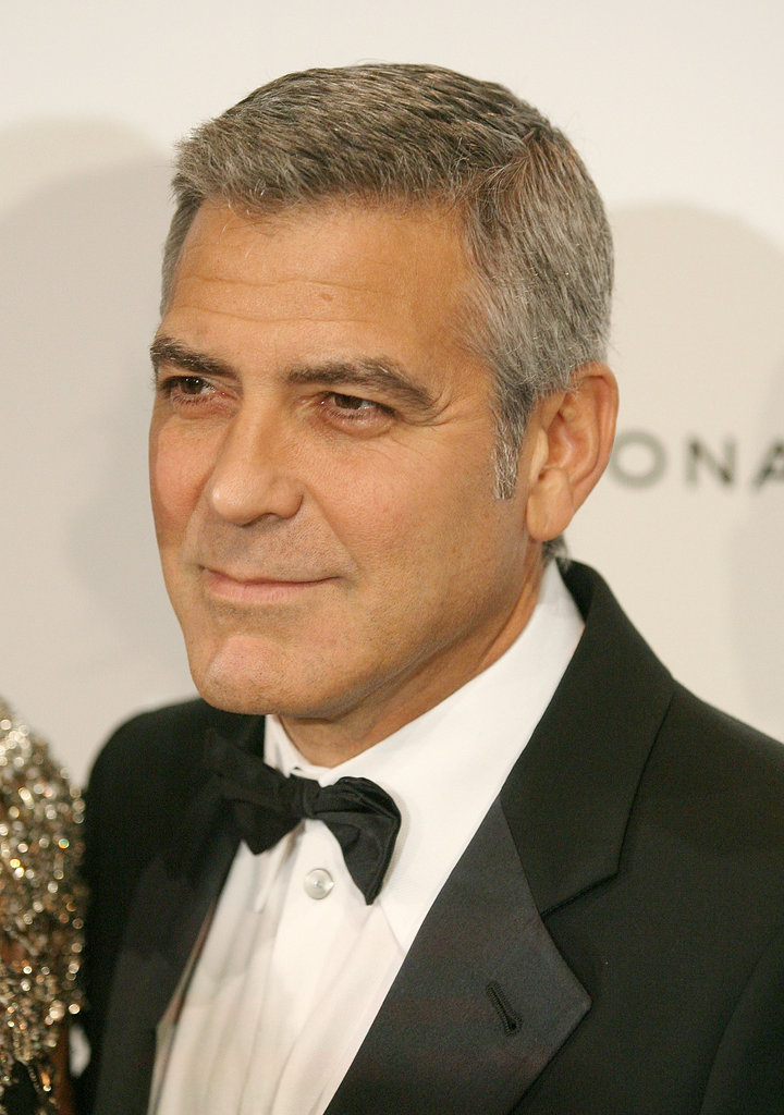 George Clooney was dressed to impress in NYC.