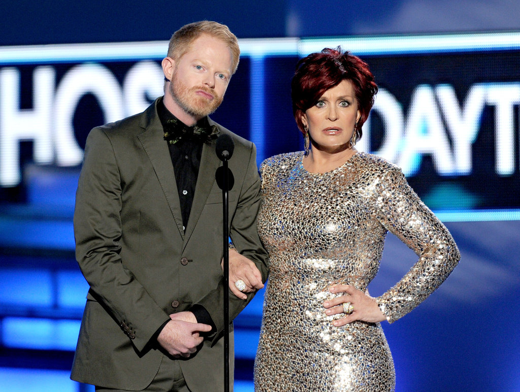 Jesse Tyler Ferguson and Sharon Osbourne
