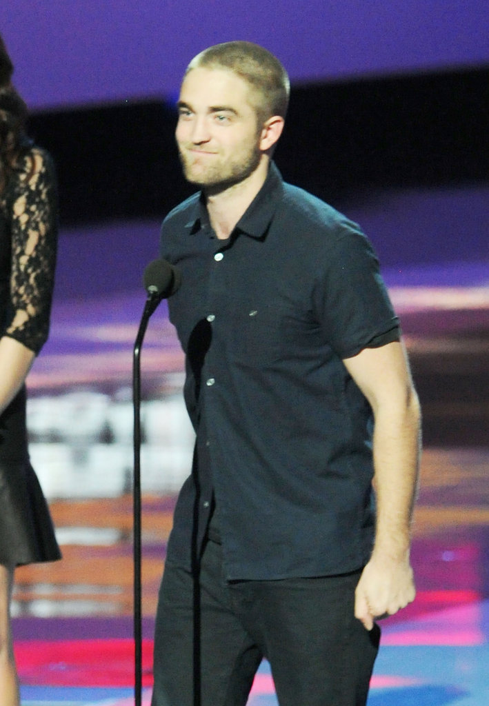 Robert Pattinson Shows His Shaved Head and Wins Big at the PCAs