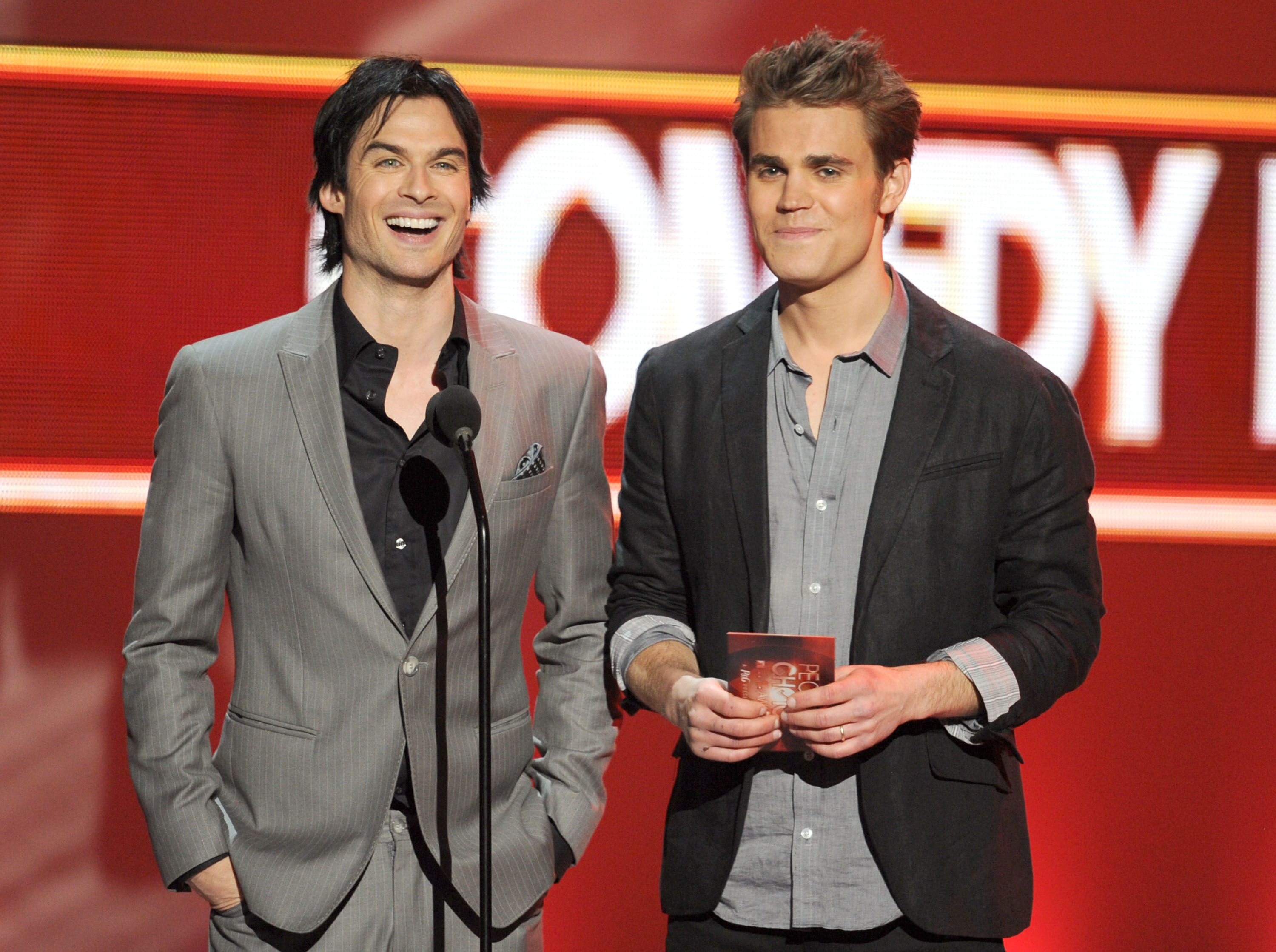 Ian Somerhalder and Paul Wesley