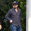 Leonardo DiCaprio Grabs Lunch With His Dad George Pictures