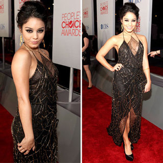 Vanessa Hudgens in Jenny Packham at 2012 People's Choice Awards