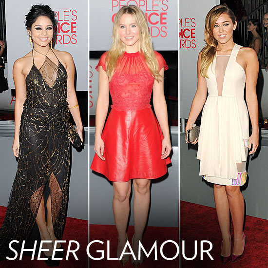 People's Choice Awards Trendspotting: Sultry Sheer Insets