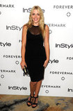 Busy Philipps channeled her sexy side in a sheer-inset LBD.