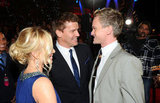 David Boreanaz from Bones laughs with Neil Patrick Harris of How I Met Your Mother.
