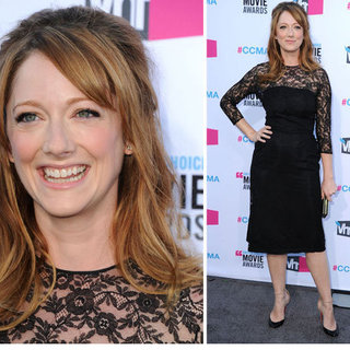 Judy Greer at Critics' Choice 2012
