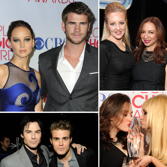 Cute Costar Moments at the PCAS: Hunger Games, Twilight, and More!