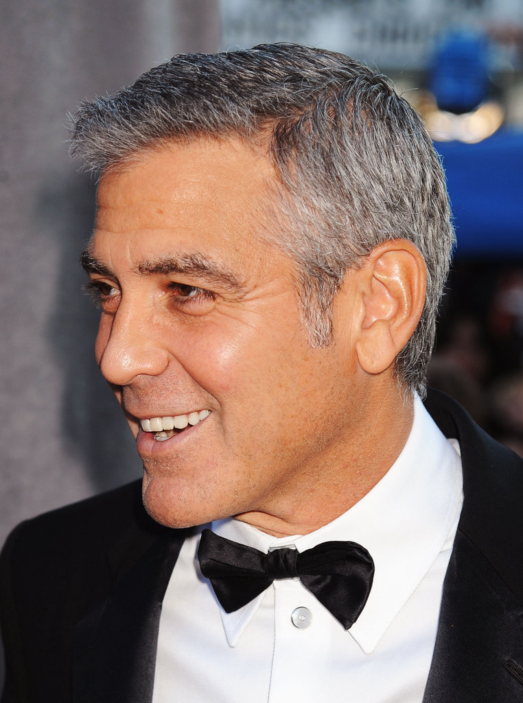 George Clooney was all smiles at the Critics' Choice Movie Awards.